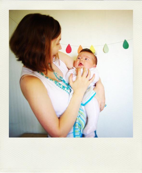 newborn happily rainbow bunting kikki k